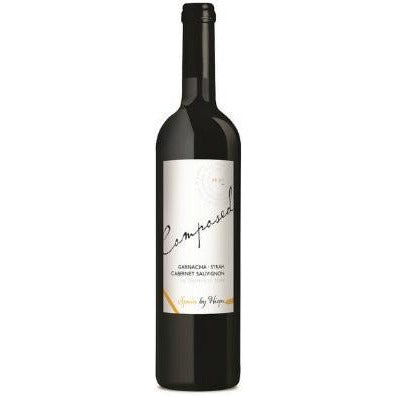 COMPOSED BY HISPA Garnacha, Syrah, Cabernet Sauvignon