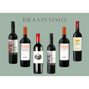 Bravissimo Mixed Case of 6 Bottles