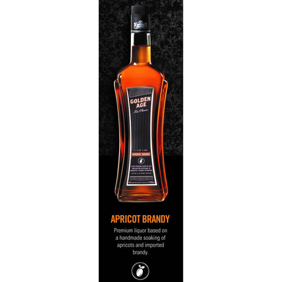 GOLDEN AGE apricot brandy 75cl - 24% - Latin Wines Online