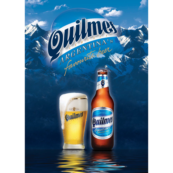 Quilmes beer 24 x 340 ml - Latin Wines Online