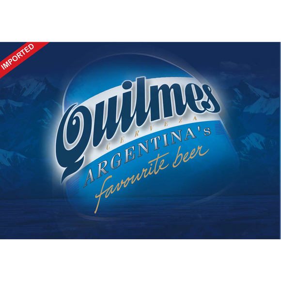 Quilmes beer 970 ml