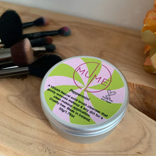 peppermint makeup brush soap