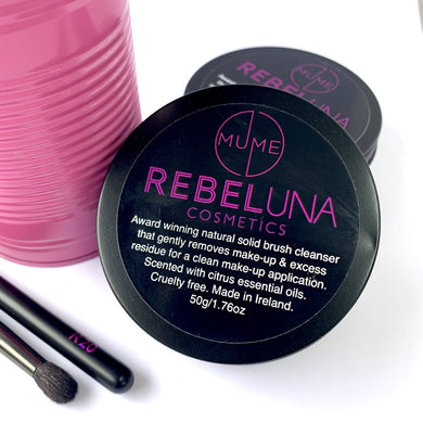 RebelUna & MuMe makeup brush soap