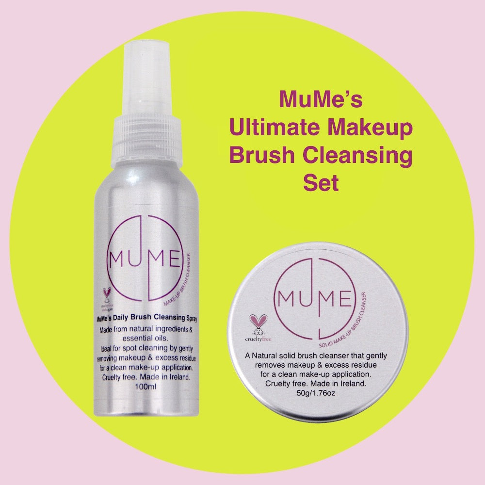 MuMe's brush cleansing set