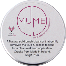 MuMe solid makeup brush cleanser