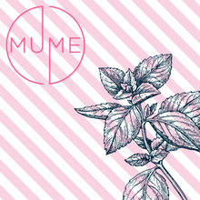 MuMe's peppermint collection