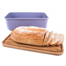 Bamboo Fiber Bread Box with Cutting Board