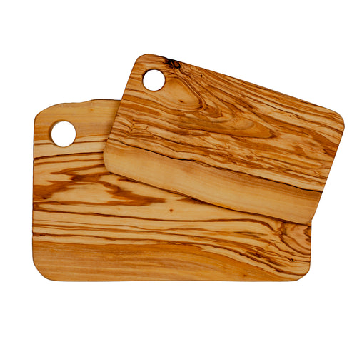 Set of Olive Wood Cutting Boards