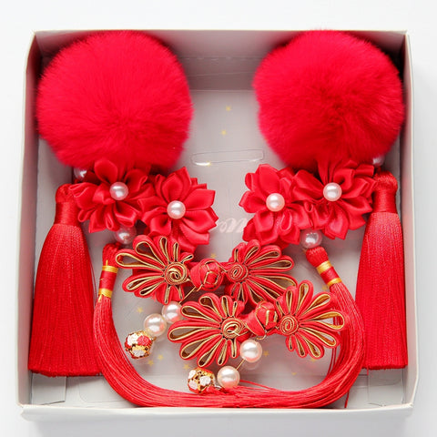 CNY 2019 - Baby Girl Hair Accessories Set