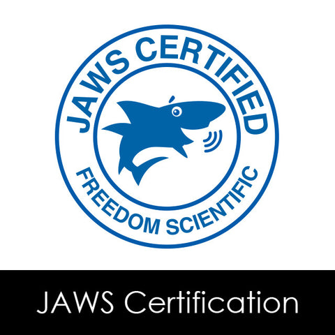 JAWS Certification Program - Certificate & Membership from Freedom Scientific