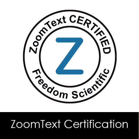 ZoomText Certification Program - Certificate & Membership from Freedom Scientific