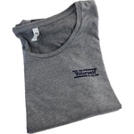 """Be Yourself"" Ladies Grey Rainbow Octopus T"