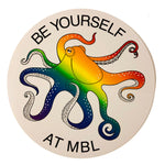 Rainbow Octopus Sticker