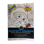Newton's Rainbow - Science Superheroes Coloring Book