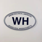 Woods Hole Bumper Sticker