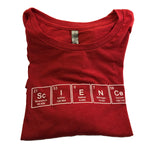 Red Periodic Table Long Sleeve T