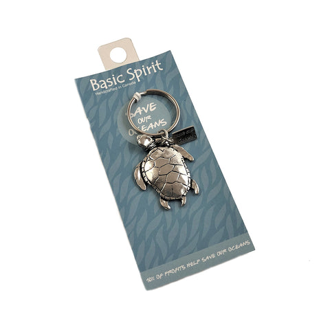 Ocean Turtle Save Our Oceans Key chain