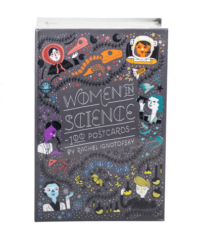 Women in Science Postcards Set