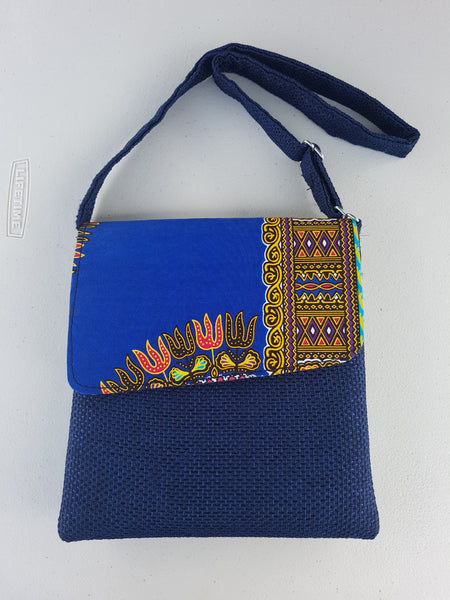 Blue Ipad bag