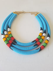 Africana Zulu necklace
