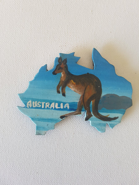 Aussie map Fridge Magnet