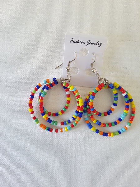 Coloured hoops