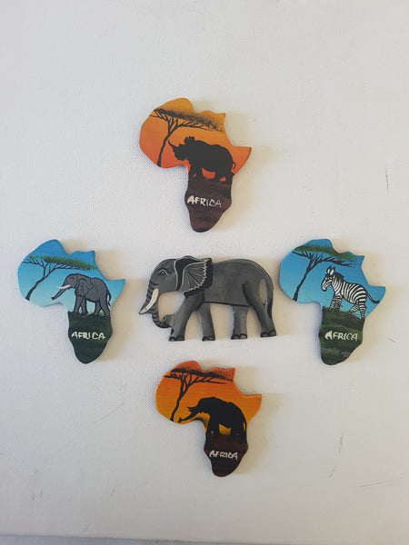 Grouped Set (Elephant centred)
