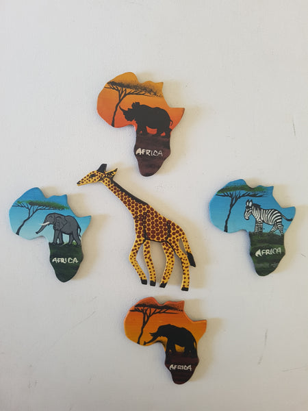 Grouped Set (Giraffe centered)