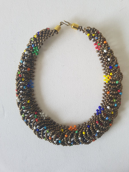 Mixed bead shanga - MJGold