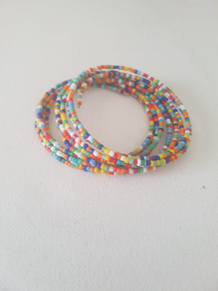 Multicoloured Slinky Bracelet
