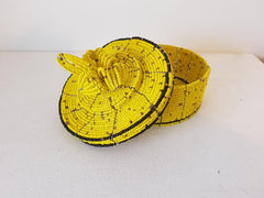 Yellow Trinket Box