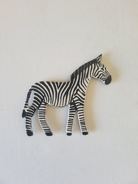 Zebra Fridge magnet A