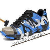 Indestructible Camouflage Shoes.