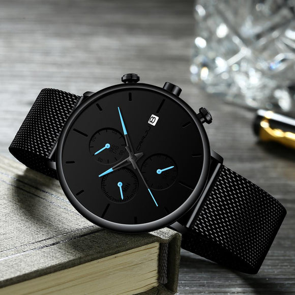 Minimalist chronograph Watch