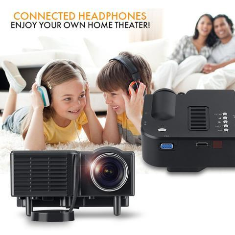 MINI PROJECTOR HOME CINEMA THEATER DIGITAL