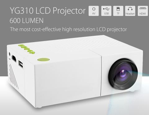 WHITE MINI PROJECTOR 300