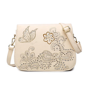 Flowers and Butterflies Hand Bags
