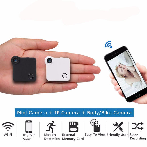 Wearable Magnetic Micro Camera