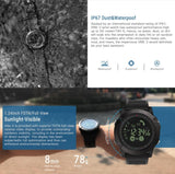 Tactix Military Smart watch - Waterproof & Shockproof