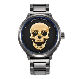 Stain Steal Skull Watch