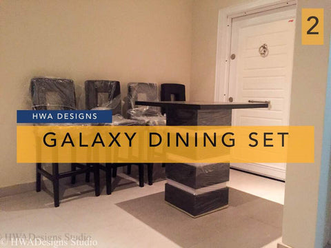 Galaxy Dining Set - blackfridayeveryfriday