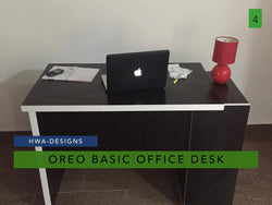 Oreo Basic Office Desk - blackfridayeveryfriday