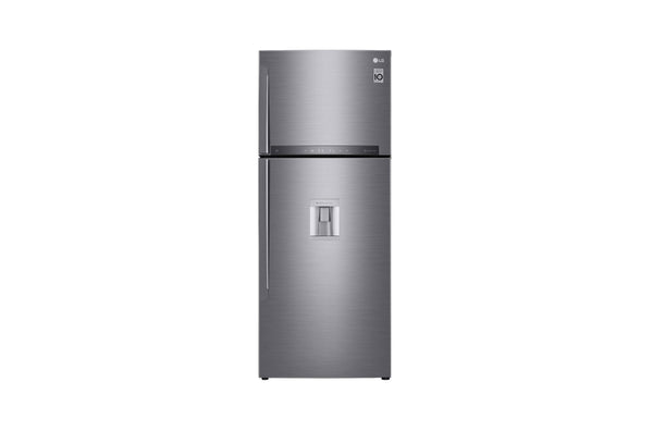 LG REFRIDGERATOR 582 HLHU-F(TOP FREEZER,PLATINUM SILVER 471LTR) 10 YR WARRANTY - blackfridayeveryfriday