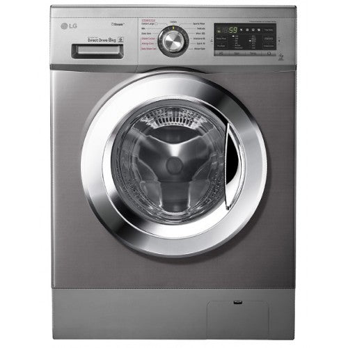 LG WASHING MACHINE 2J5TMP7S (FL 8KG SILVER) - blackfridayeveryfriday