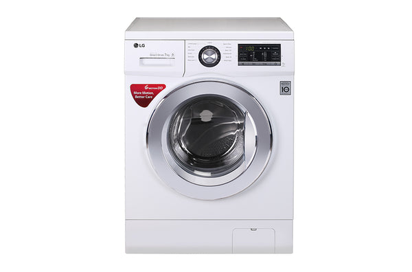 LG WASHINGMACHINE 2J5TNP3W(FL 8KG WHITE) - blackfridayeveryfriday