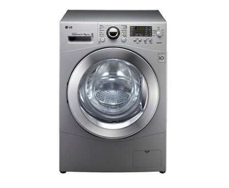 LG WASHING MACHINE 4J6TM98S(FL 8KG WASHER, 5KG DRYER, SILVER) - blackfridayeveryfriday
