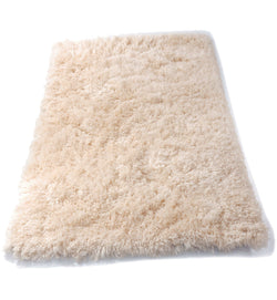 Cream shaggy Rug 4*6 - blackfridayeveryfriday