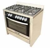 Scanfrost 5-burner Gas cooker SFC9502 SS - blackfridayeveryfriday