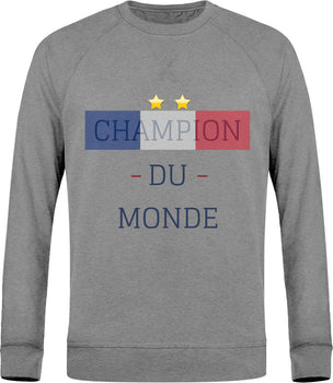Sweat Col Rond - Champion du monde
