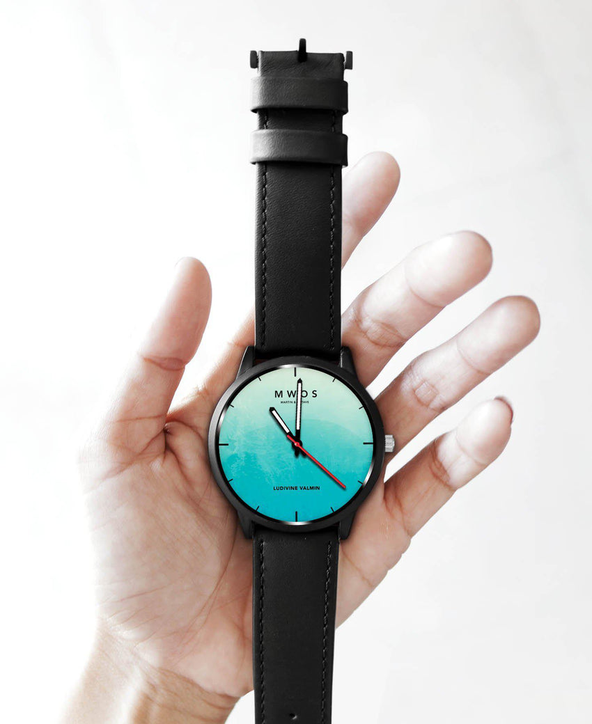Aquarelle - Montre Personnalisable